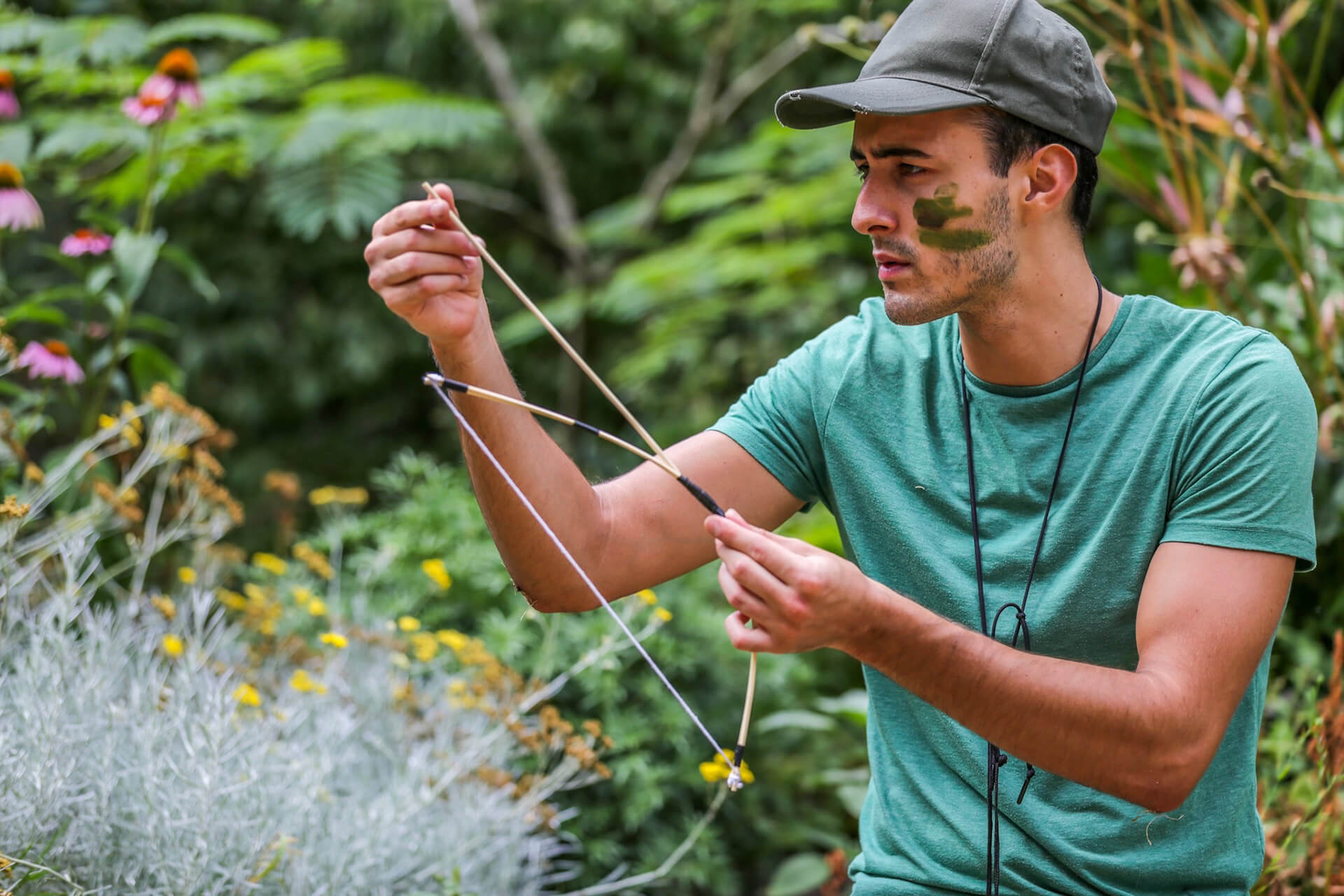 Jim's Bushcraft Parties - Bows & Arrows. My favourite of all the activities, this involves a step-by-step process on how to make a mini bamboo bow from scratch which is surprisingly powerful. Firing arrows up to 30 feet! Once completed the bows can be personalised and taken home too!